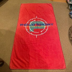 POLO SPORT Ralph Lauren large beach towel